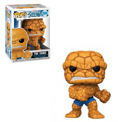 560 (Funko Pop - The Thing (Fantastic Four בובת פופ
