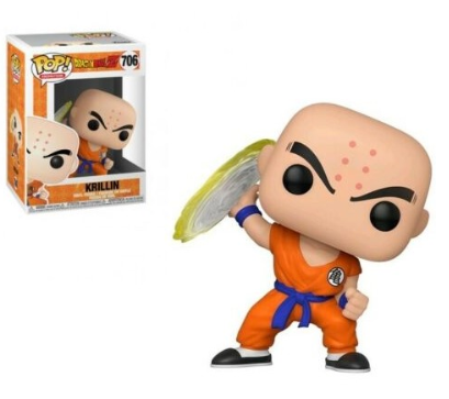 Animation Dragonball Z - Krillin with Disc דרגון בול