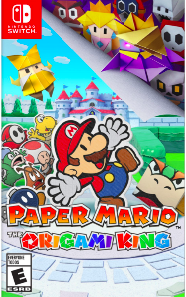 Nintendo Switch Paper Mario : The Origami King מכירה מוקדמת