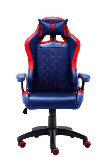 מושב גיימינג כחול אדום GT IN GAME SPARKFOX