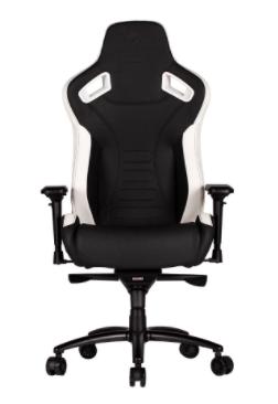 """כיסא גיימינג Dragon GT  צבע שחור ולבן שנה אחריות ע""""י היבואן הרשמי"""