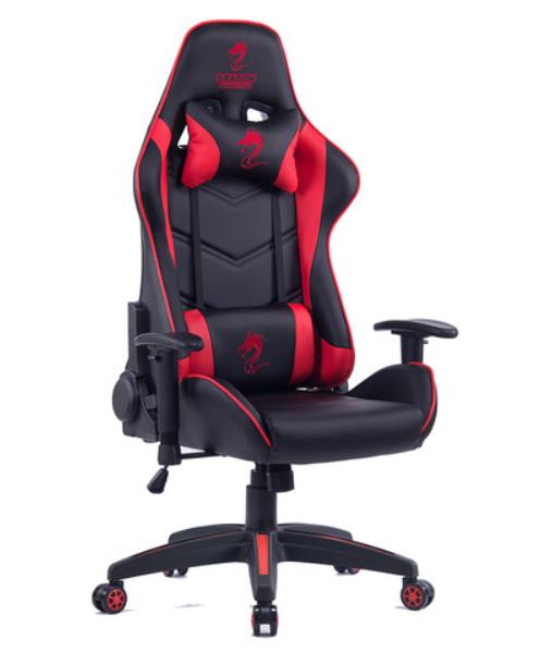 מושב גיימרים Dragon Olympus Chair אדום שחור