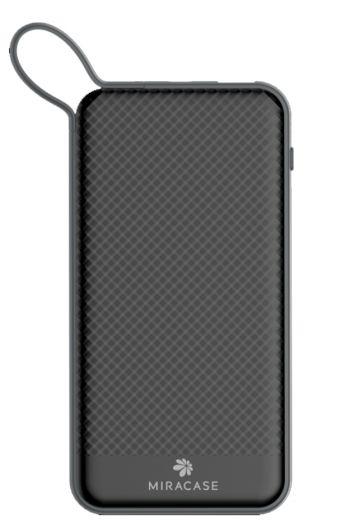 סוללת טעינה + כבל MIRACASE Micro USB שחור