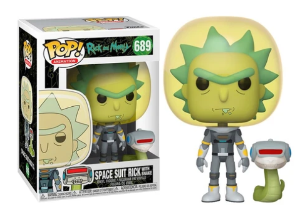 Funko Pop - Space Suit rICK (Rick And Morty) 689 בובת פופ