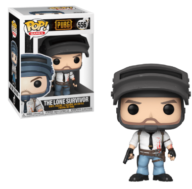 FUNKO POP! GAMES: PUBG: #556 THE LONE SURVIVOR