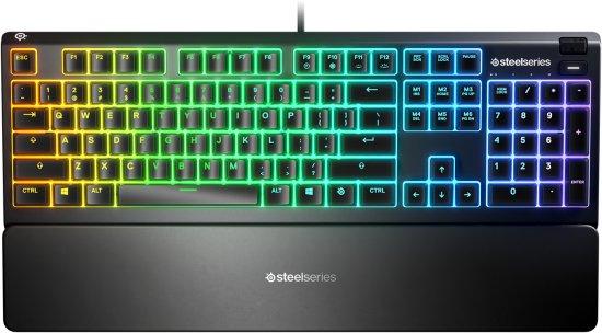 מקלדת גיימרים SteelSeries Apex 3 RGB