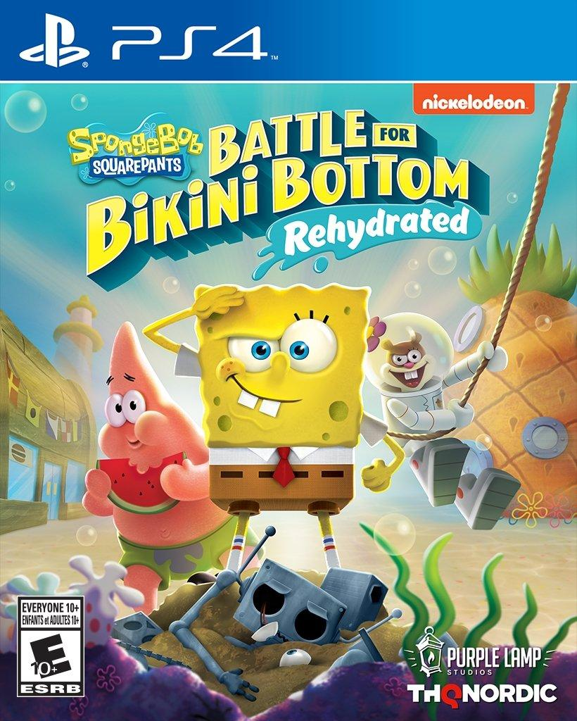 SpongeBob SquarePants : Battle for Bikini Bottom Ps4