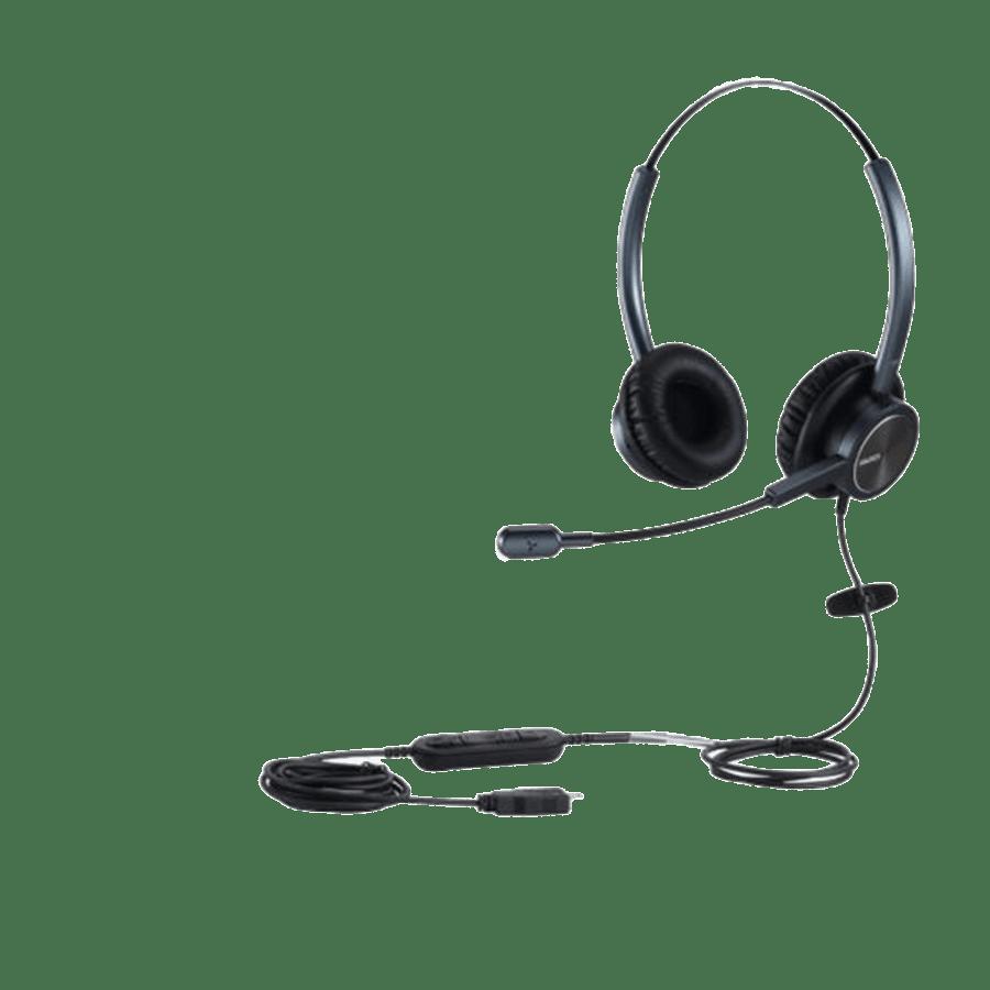 אוזניות קשת On-Ear עם מיקרופון Mairdi PC USB 2.0