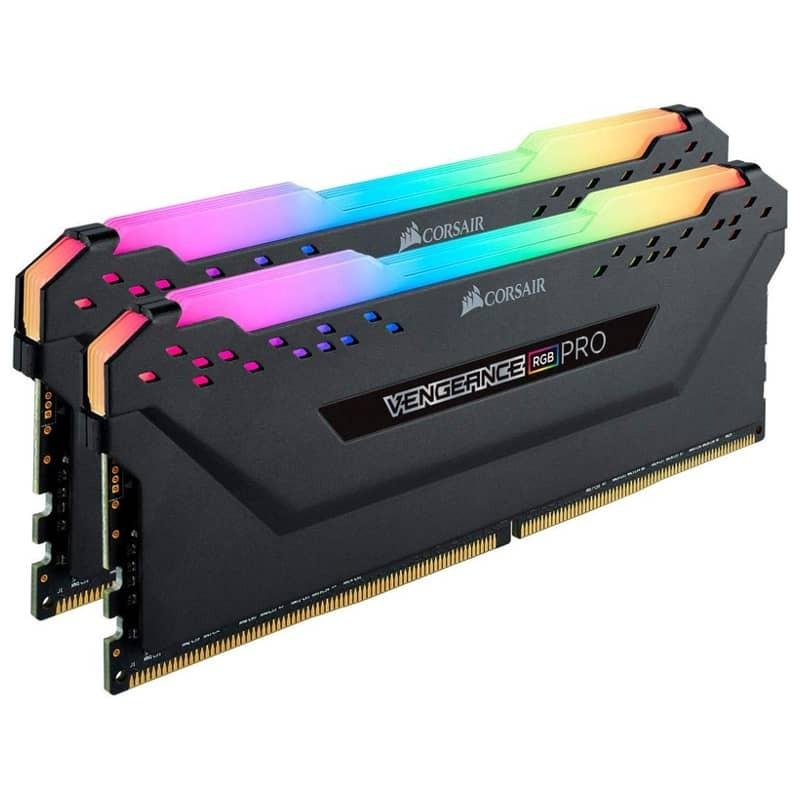 זכרון לנייח קיט Corsair 16GB kit 2x8 3000mhz RGB PRO