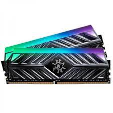 זיכרון חברת XPG דגם XPG Spectrix D41 RGB 16GB 8GBX2 DDR4 3200Mhz CL16 - כולל צלעות קירור מקצועיות