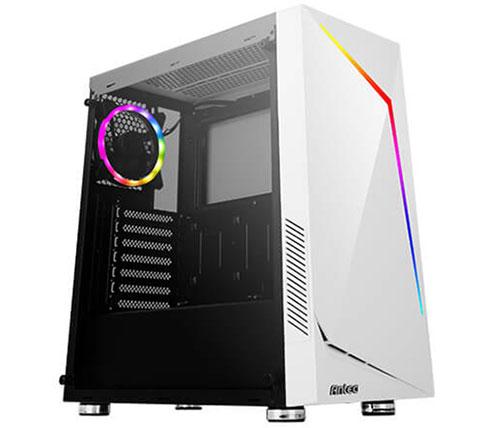 מארז מחשב Antec NX300 WHITE בצבע לבן