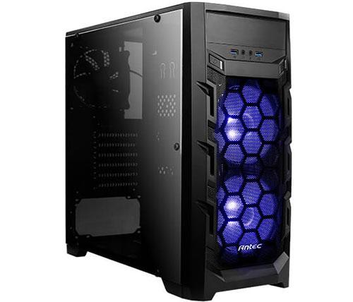 מארז מחשב Antec GX202 בצבע שחור