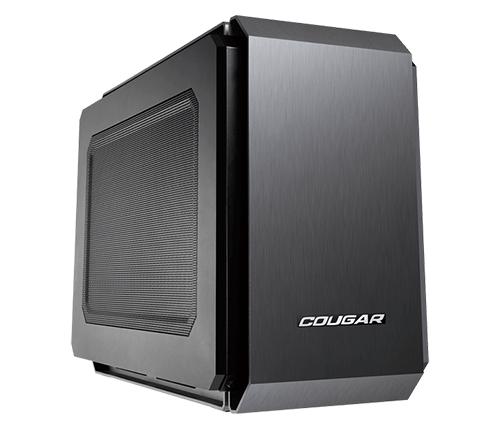 מארז מחשב Cougar QBX בצבע שחור כולל חלון צד