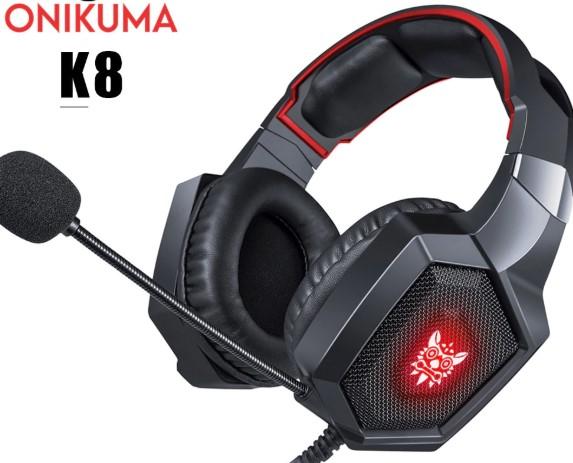אוזניות גיימינג מתקדמות Onikuma K8