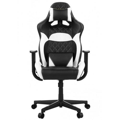 כיסא גיימינג Gamdias ZELUS E1 לבן/שחור