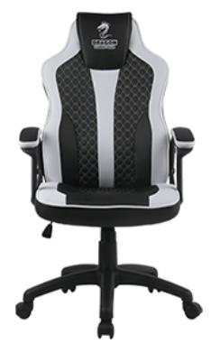 כיסא גיימינג דראגון Sniper שחור לבן