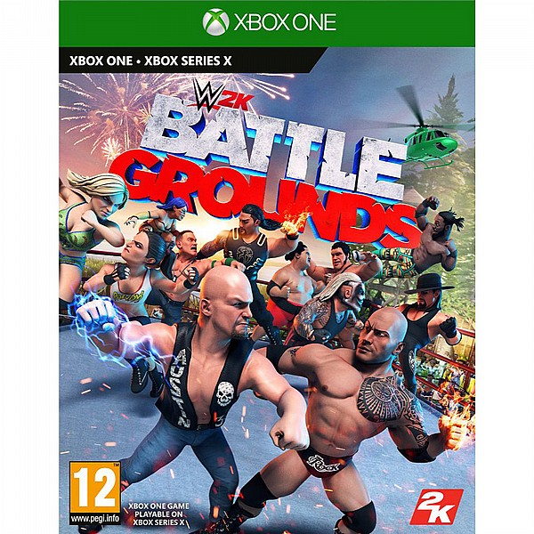 XBOX ONE  - WWE 2K Battlegrounds