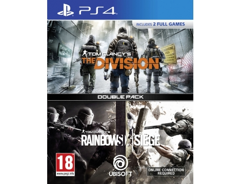 Playstation - PS4 Tom Clancy´s The Division + Rainbow Six Siege
