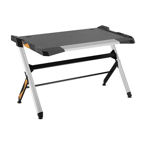 שולחן גיימינג מקצועי LUMI GMD01-1 כולל תאורת RGB שחור