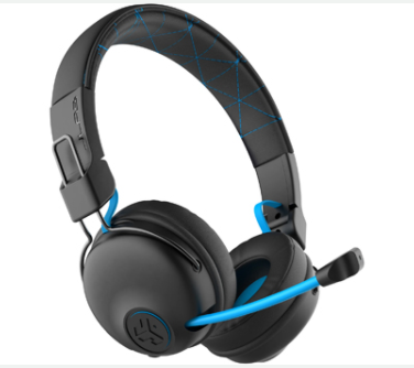 אוזניות ‏אלחוטיות JLab JBUDDIES Play Gaming Wireless Headset