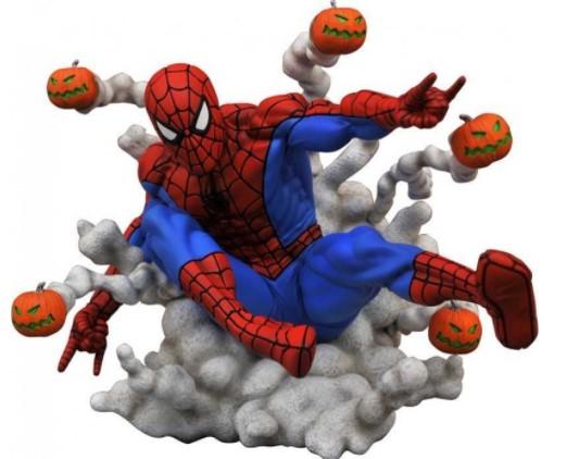 פסל Marvel - Marvel Gallery Pumpkin Bomb Spider-Man