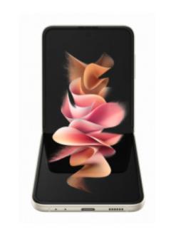סמארטפון Samsung Z FLIP 3 5G 256GB CREAM יבואן רשמי