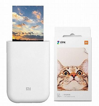 מדפסת תמונות אלחוטית ניידת דגם Mi Portable Photo Printer