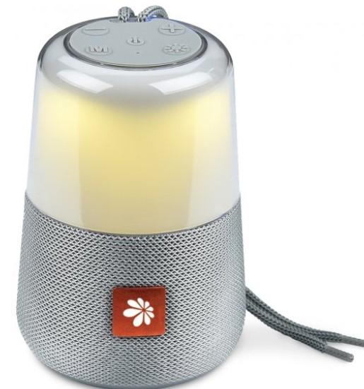 רמקול Bluetooth נייד עם רדיו Miracase MBTS868 - צבע אפור