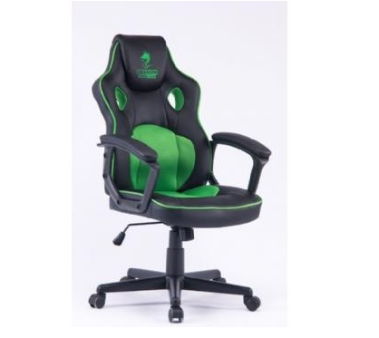 מושב גיימרים Dragon Combat Chair ירוק שחור