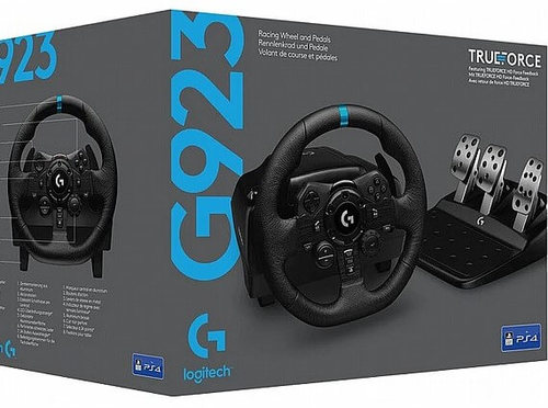 הגה מרוצים Logitech Driving Force G923 PC/PS4