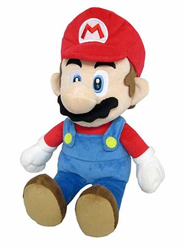 בובת פרווה - Super Mario 35cm גדולה