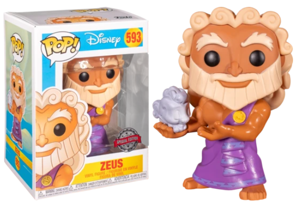 Disney Funko Pop! Zeus (with Cloud Pegasus) #593