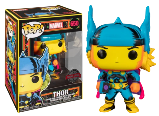 Funko Pop! Marvel: Black Light - Thor #650