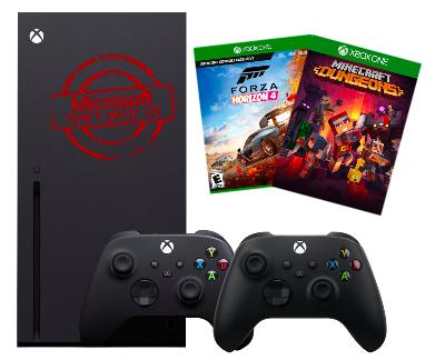 Xbox Series X 1TB עם 2 שלטים+משחק לבחירה ואחריות יבואן רישמי