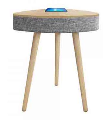 שולחן רמקול משולש עם עמדת טעינה אלחוטית PURE ACOUSTICS דגם BL-370