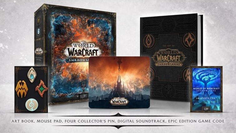 World of Warcraft: Shadowlands Physical Collector's Edition PC