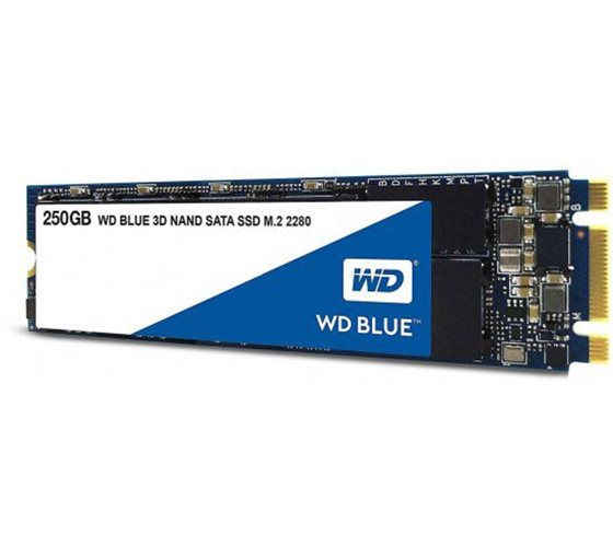 כונן קשיח Western Digital Blue WDS250G2B0B 256GB M.2 SSD