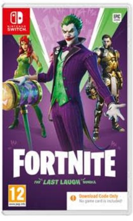 Nintendo Switch Fortnite The Last Laugh Bundle