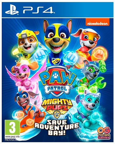 Playstation - PS4 Paw Patrol ! Mighty Pups Save Adventure Bay