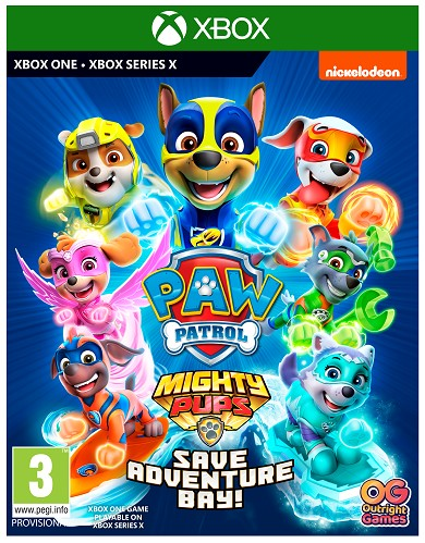 XBOX ONE - Paw Patrol ! Mighty Pups Save Adventure Bay
