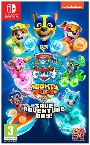 Nintendo Switch Paw Patrol ! Mighty Pups Save Adventure Bay
