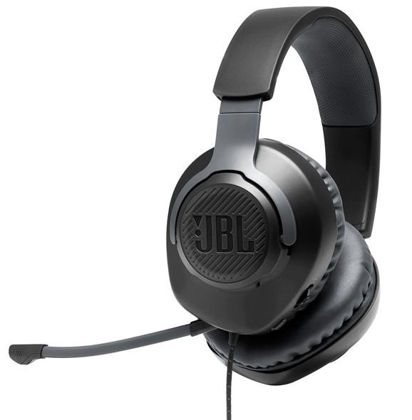 JBL אוזניות גיימינג Quantum 100 צבע שחור