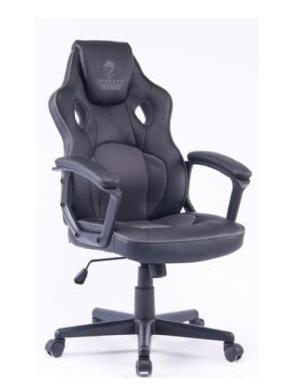 מושב גיימרים Dragon Combat Chair אפור שחור