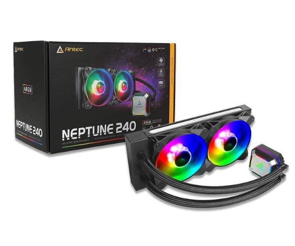 קרור נוזלי ANTEC Neptune 240 ARGB AL IN ONE
