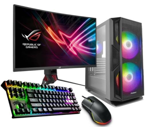 מחשב גיימינג GEX13-i5-10600KF-GTX 1660 SUPER+מסך+ערכת גיימינג מלאה + מערכת הפעלה ואופיס!