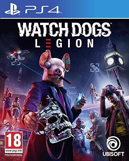 WATCH DOGS Legion לקונסולת PS4