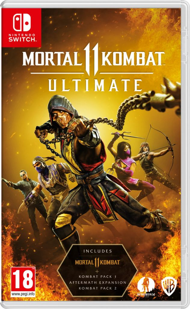 Nintendo Switch- Mortal Kombat 11 ULTIMATE