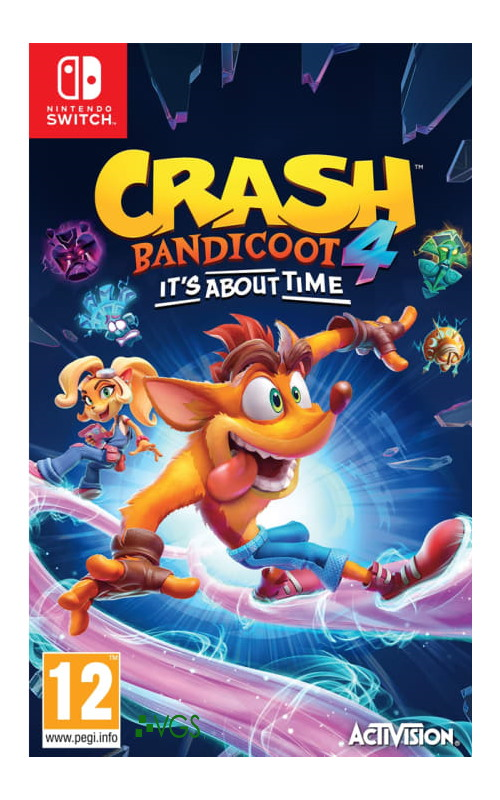 Crash Bandicoot 4 It's About Time Nintendo Switch