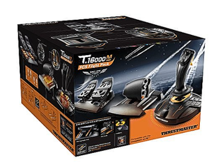 ג'ויסטיק טיסה Thrustmaster T.16000M FCS Flight Pack