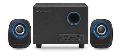 רמקולים למחשב אלחוטי להזרמת מוזיקה באופן אלחוטי ישירות מהנייד מבית PURE ACOUSTICS דגם MTX-75